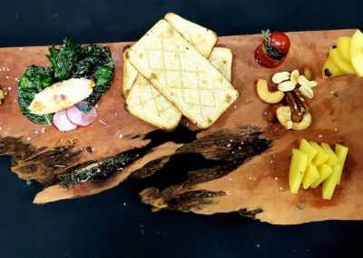 Wood cheese table